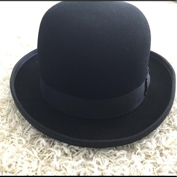 Hats In The Belfry Accessories Wool Bowlerderby Hat Poshmark